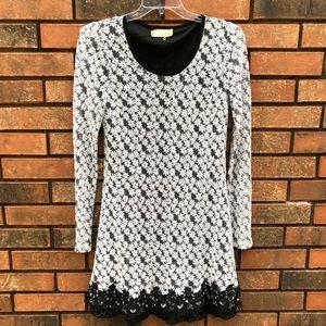 A'REVE (Anthropologie) Long Sleeve Dress. EUC.